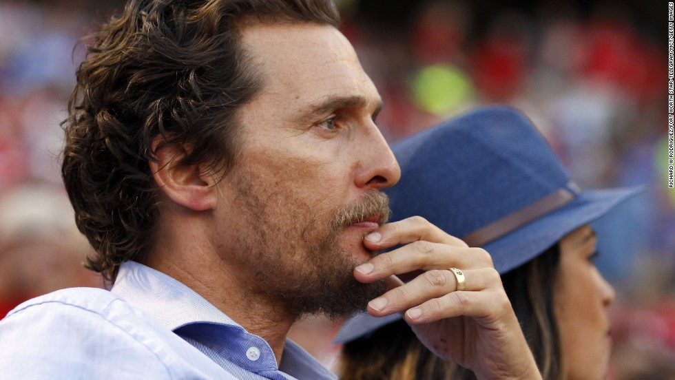 "<strong>Matthew McConaughey, father of three, on responsibility</strong>: ""Everything I do leads back to them: how I take care of myself, how I handle myself, how I need to make sure that I stay healthy and literally alive, because they need me. That's a great responsibility."""