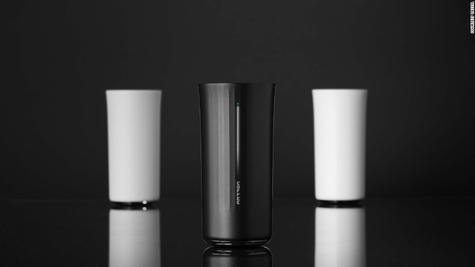"<em><strong>What's in your cup?</strong></em><br /><br />The <a href=""https://www.myvessyl.com/"" target=""_blank"">Vessyl</a> can tell you. It's a sleek, sturdy 13-ounce cup fitted with sensors that can detect within seconds what you have poured in it.<br /><br />But wait, shouldn't you already know what you've poured in it? The Vessyl opens itself to easy criticism, but that's missing the point a bit: intended as a fitness device -- it was designed in collaboration with the creator of the <a href=""https://jawbone.com/up"" target=""_blank"">Jawbone Up</a> wristband -- it gathers data about what you're drinking and monitors your intake of sugars and alcohol.<br /><br />It works great as a party trick, too: it can <a href=""http://www.cnn.com/2014/06/13/tech/innovation/world-cup-survival-glass/"">recognize</a> a specific brand of smoothie, and is able to discern an exact flavor of Frappuccino.<br /><br />The Vessyl starts shipping in early 2015 and costs $99."