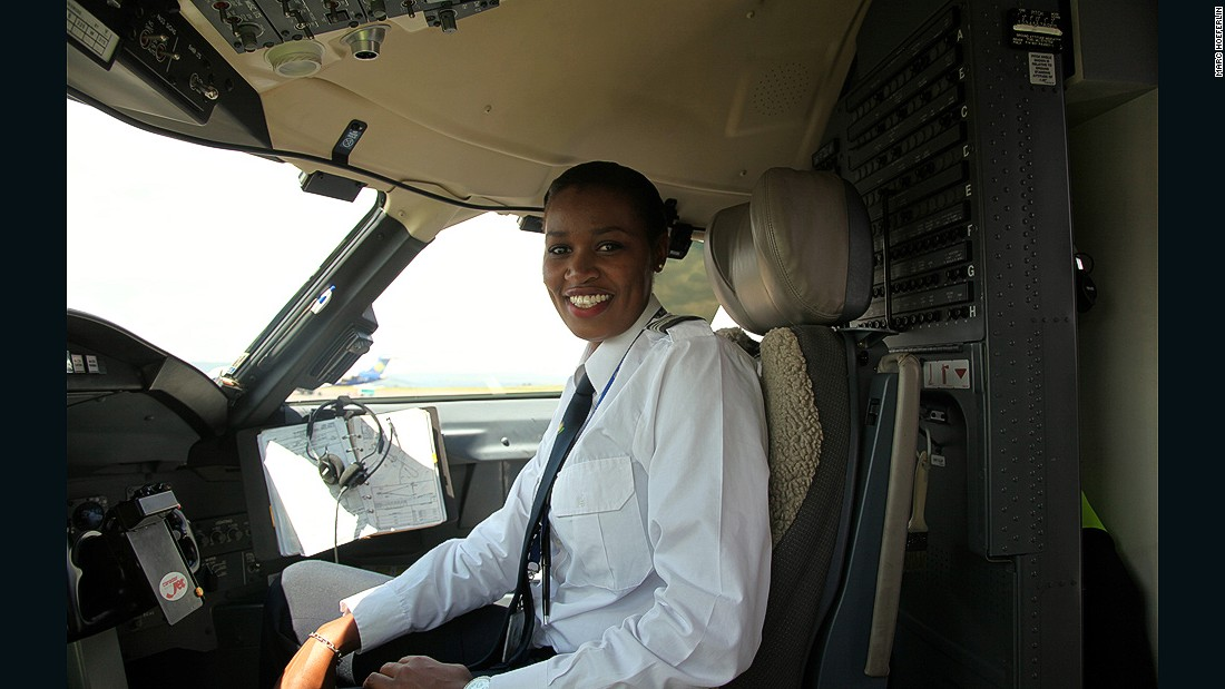 Esther Mbabazi is Rwanda's first female commercial pilot. Her desire to take to the skies never wavered, even after her father passed away in a plane crash in the Democratic Republic of Congo.