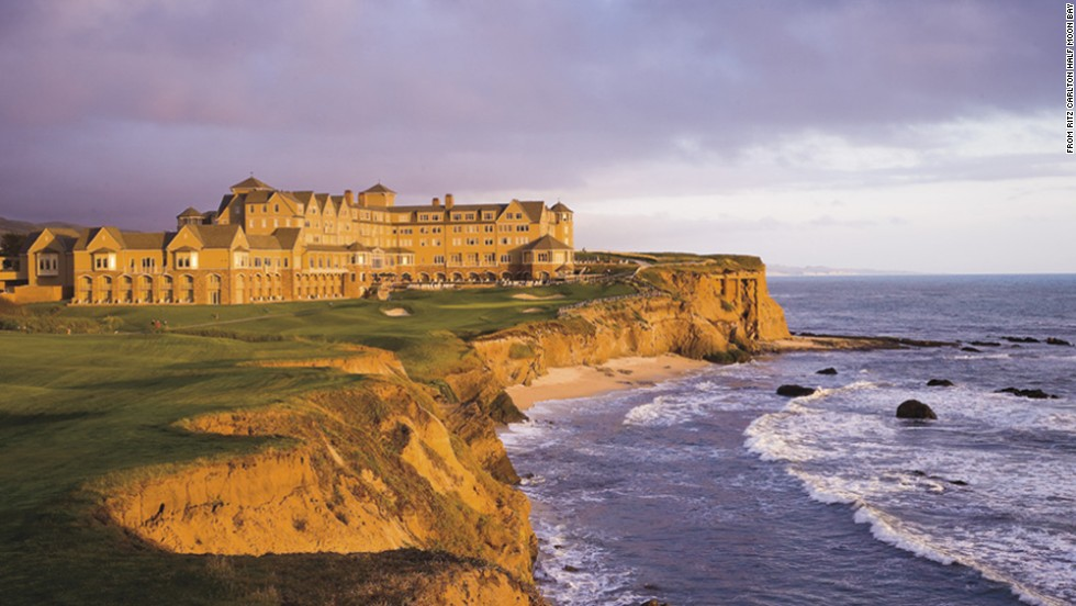 Ritz-Carlton Half Moon Bay is a golfer's paradise overlooking the Pacific.
