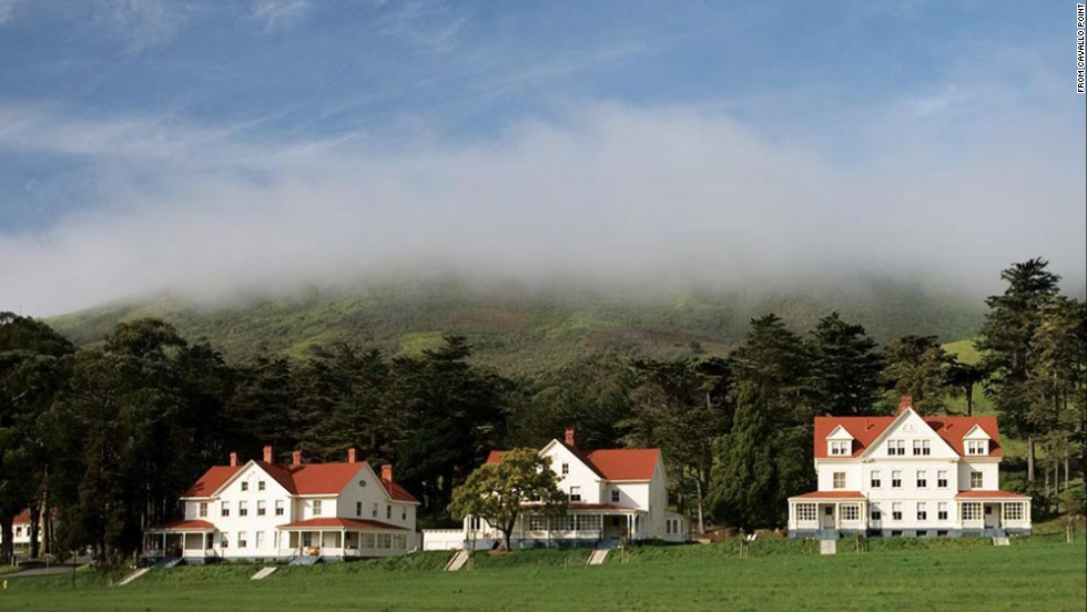 A unique Bay Area experience, Cavallo Point offers the romance of staying in historic officers quarters overlooking San Francisco, the Golden Gate Bridge and the bay.
