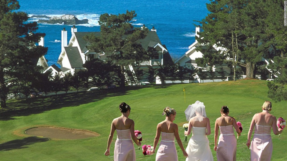The Little River Inn's spectacular setting along the Mendocino Coast makes it an ideal spot for a special occasion.