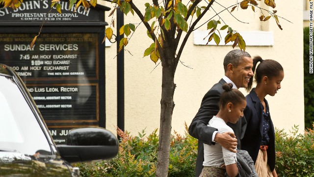 President Obama has been a father and role model for his two girls, Sasha and Malia.