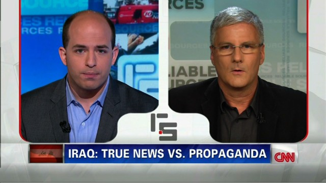 Distinguishing Iraq news from propaganda