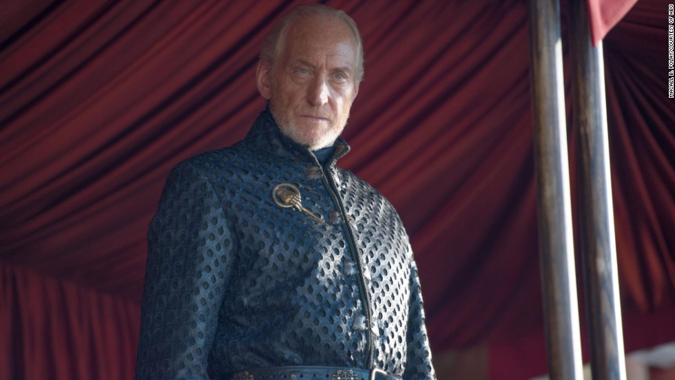 "It seemed almost poetic that Tywin Lannister (portrayed by Charles Dance) was killed by his son Tyrion on an episode of ""Game of Thrones"" that aired on Father's Day 2014. It was a less than dignified end for the Lord of Casterly Rock, who bought it while on the commode."