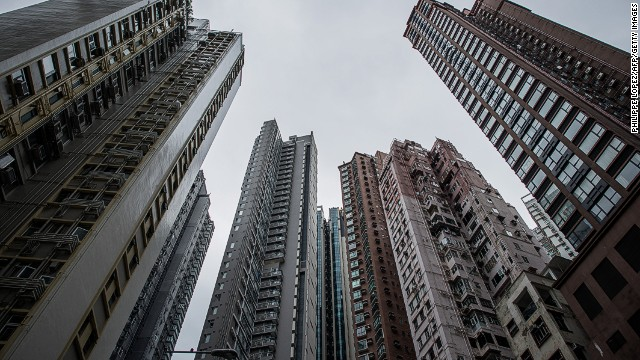 High rise residential buildings are seen in Hong Kong on November 26, 2012. Buyers have turned to parking lots to make quick gains after the government imposed a series of measures last month to try to cool the Chinese city's overheated housing market. AFP PHOTO / Philippe Lopez (Photo credit should read PHILIPPE LOPEZ/AFP/Getty Images)