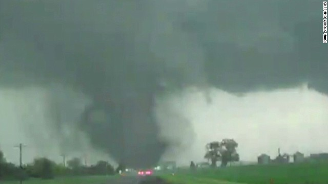 Watch 2 tornadoes touch down in Nebraska