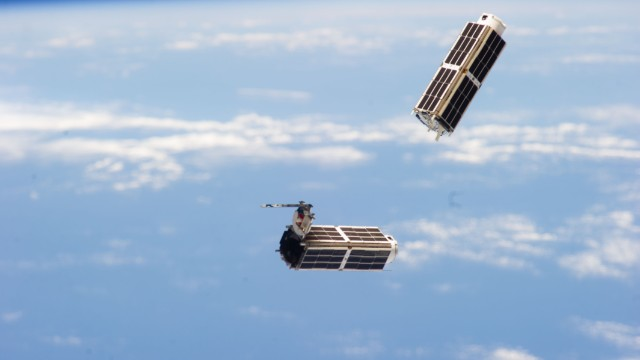 Silicon Valley's satellite revolution