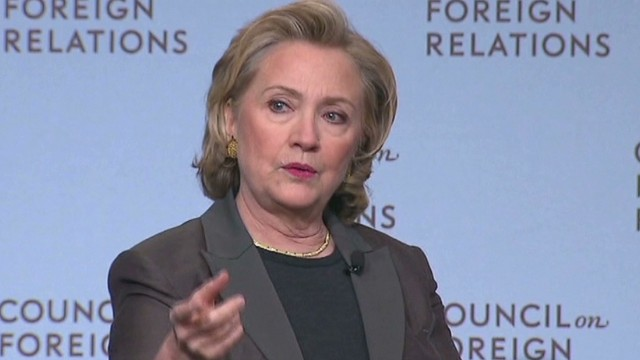 Clinton talks foreign policy on book tour