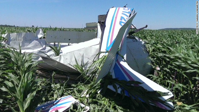 nr intv kinmartin pilot jumps from damaged plane_00011203.jpg
