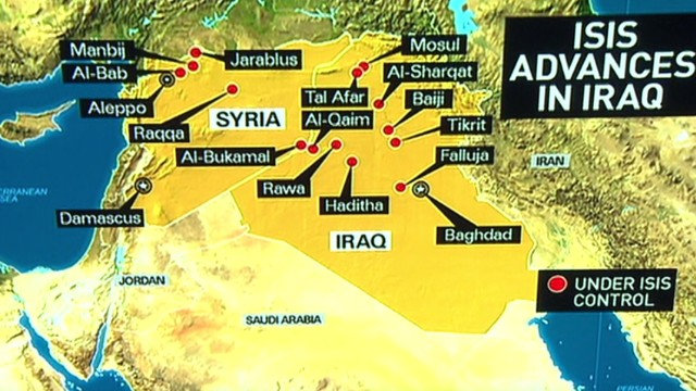ISIS looks to establish Islamic State