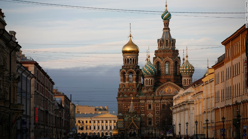Number eight on the TripAdvisor landmarks ranking, the Church of Our Savior on Spilled Blood in St. Petersburg wins points for most evocative name.