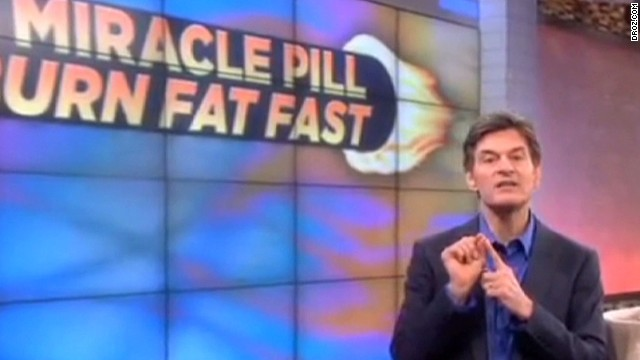 Dr. Oz: I've never sold supplements