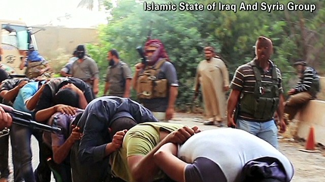 Brutality of ISIS on display in Iraq