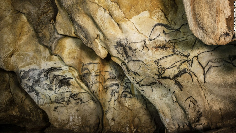 The decorated cave of Pont d'Arc, known as the Grotte Chauvet-Pont d'Arc, is France's newest World Heritage Site. The 8,500-square meter cave in southern France contains some of the first known expressions of human artistic genius: More than 1,000 drawings, mostly of animals, dating back some 31,000 years. Preserved by a rockfall about 20,000 years ago, the cave remained sealed until it was discovered in 1994.
