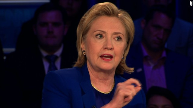 Clinton speaking out for gun control