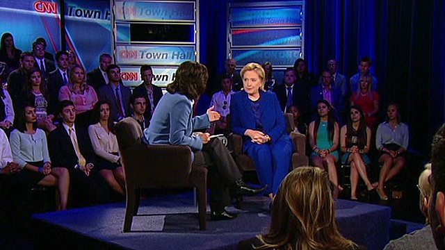 Clinton: I will always speak out