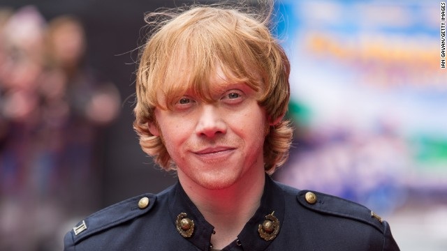 "Rupert Grint attends the World Premiere of ""Postman Pat"" in May 2014 in London, England."