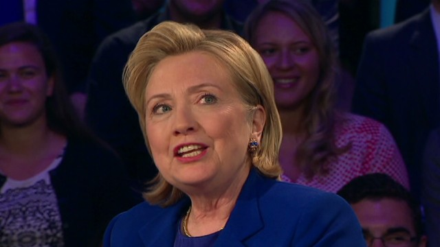tsr amanpour clinton town hall three words_00001710.jpg