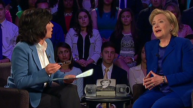 Amanpour reflects on Clinton Town Hall