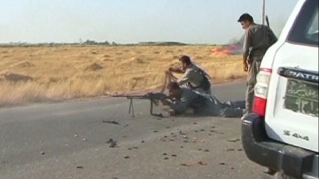 ISIS battles for Baquba
