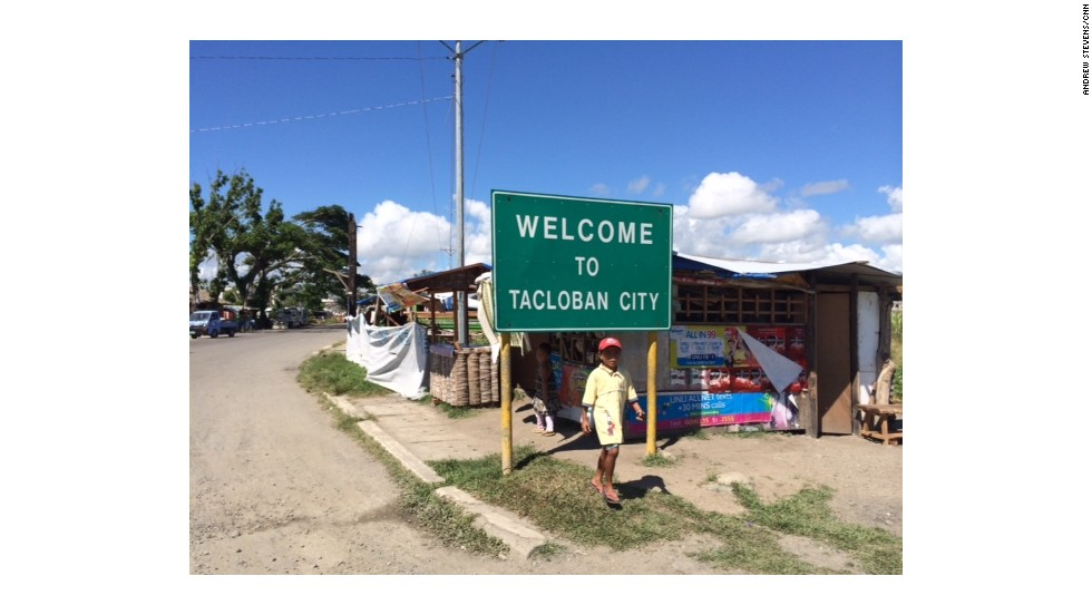 Tacloban, the capital of Leyte province in the Philippines still bears the signs of destruction wrought by Typhoon Haiyan, but it is recovering. This photo was taken in May 2014, six months after the disaster.