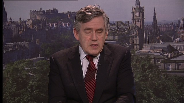 Gordon Brown on missing Nigerian girls