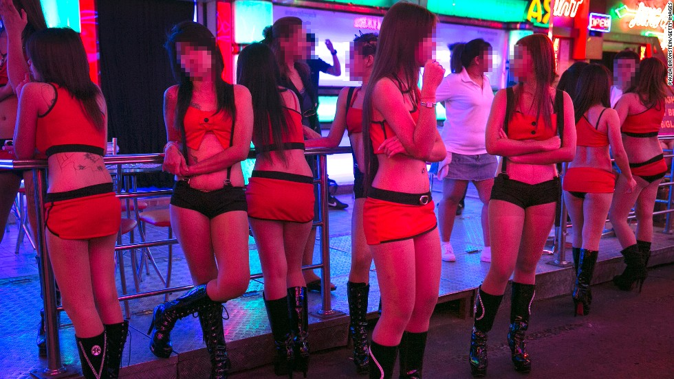 Local companies are cashing in on demand from timid thrill seekers who want to safely experience Bangkok's infamously raunchy clubs. Chaperoned tours guide visitors to places such as this Soi Cowboy street bar, where female workers wait for business.
