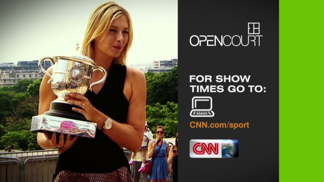 Wimbledon champs on Open Court