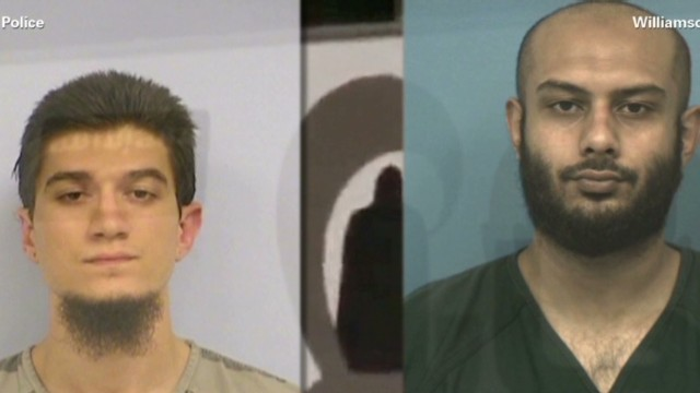 Two Texans arrested on terror charges
