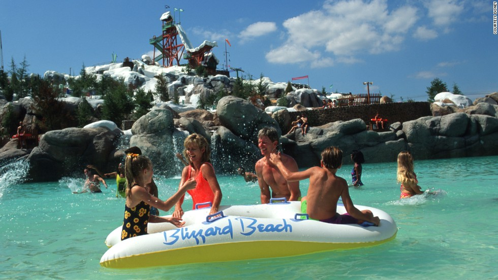 Disney's Blizzard Beach at Walt Disney World was the second most visited water park in the U.S. in 2013.