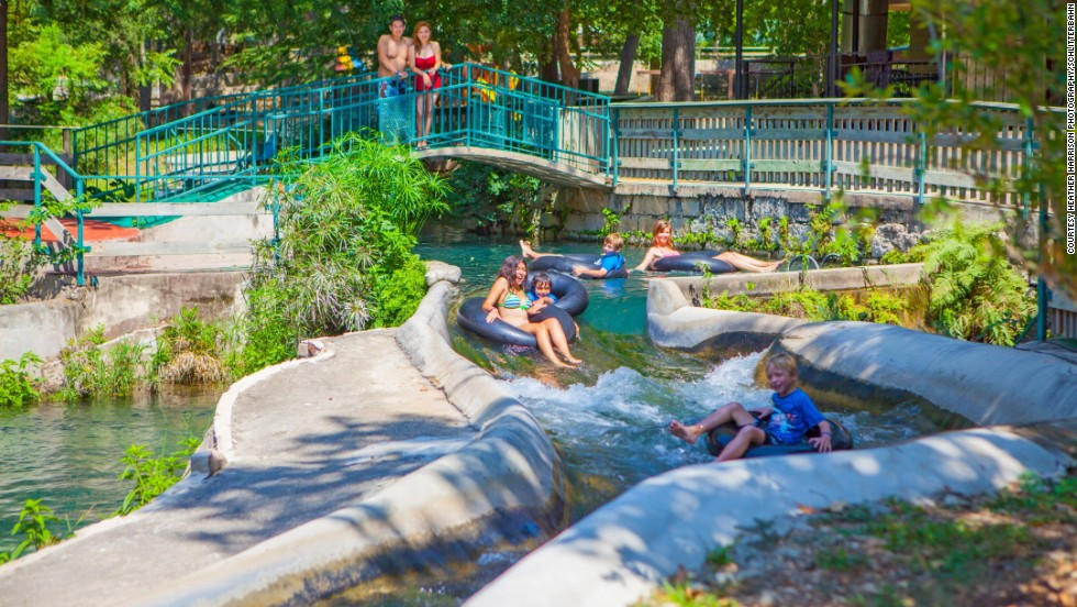 Schlitterbahn Waterpark & Resort in New Braunfels, Texas, drew just over a million visitors in 2013.