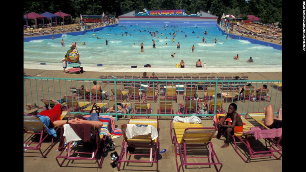 Even historical playground Colonial Williamsburg has a water park, the sixth most visited U.S. park in 2013. Water Country USA, features the largest wave pool in Virginia. The 4-foot waves at Surfers Bay Wave Pool start crashing every 10 minutes, and each wave cycle lasts 8 minutes.