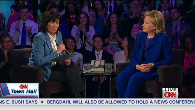 Clinton on gay marriage at CNN Townhall