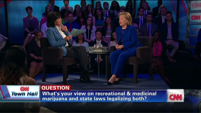 Clinton on marijuana at CNN Townhall