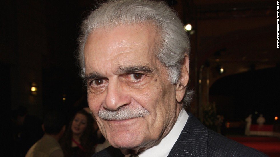 "Omar Sharif has had a long and storied career, with roles in ""Doctor Zhivago"" and ""Lawrence of Arabia."""