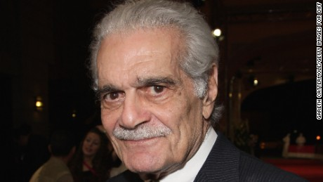 DUBAI, UNITED ARAB EMIRATES - DECEMBER 16:  Actor Omar Sharif attends the Closing Night and Award Ceremony of the 6th Annual Dubai International Film Festival held at the Madinat Jumeriah Complex on December 16, 2009 in Dubai, United Arab Emirates.  (Photo by Gareth Cattermole/Getty Images for DIFF)