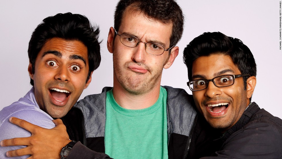 Comedian Asif Ali, at right, will star in an upcoming sitcom produced by Tina Fey.