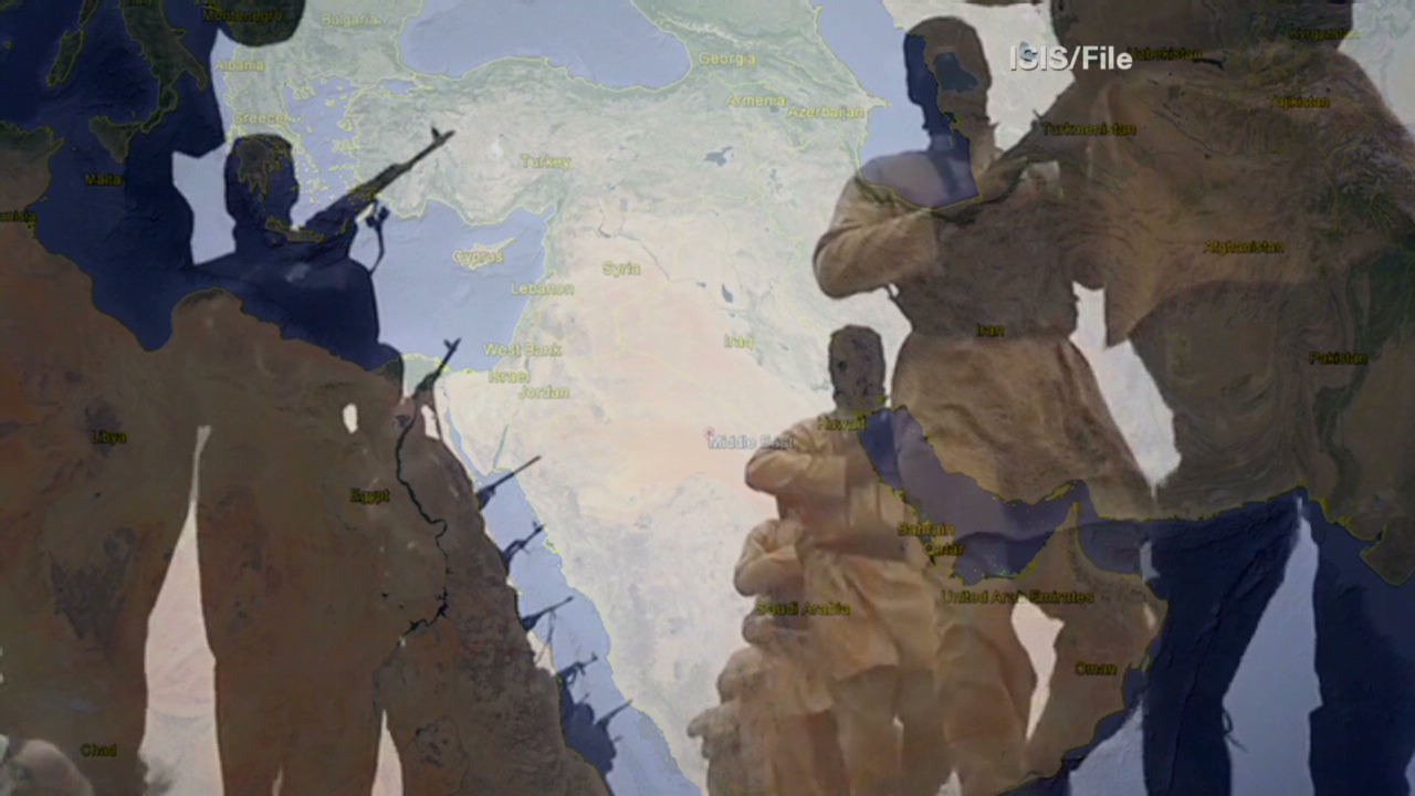 ISIS Redraws The Map Of The Middle East CNN Video - Us map redrawn background