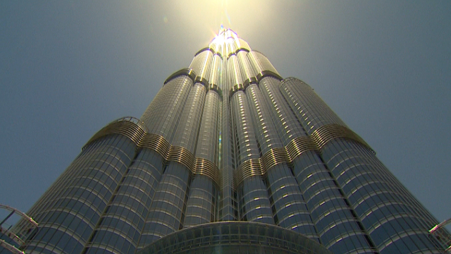 Inside the tallest building in the world