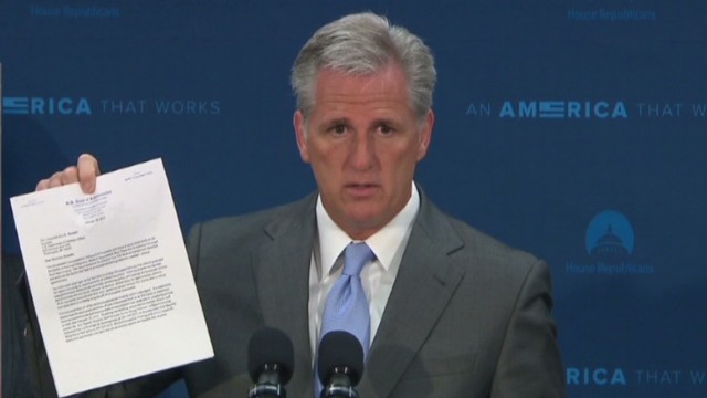 Rep. Kevin McCarthy new GOP House leader
