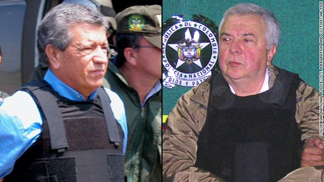 Brothers Miguel Rodriguez Orejuela, seen in 2005 at left, and Gilberto Rodriguez Orejuela, seen in 2004, were convicted to 30-year prison sentences and ordered to forfeit $2.1 billion in assets.