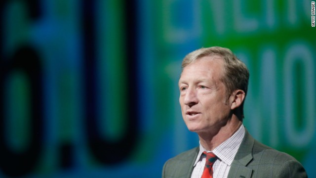 Democratic mega-donor Tom Steyer isn't ruling out running for California governor in 2018 or the White House in 2020.
