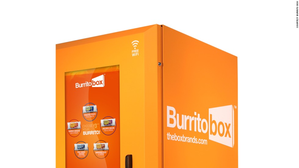 Where better than the University of Southern California campus to find the first-ever burrito vending machine?