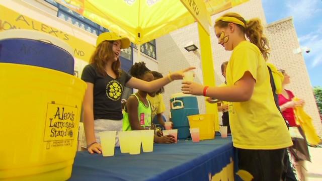 Serving up lemonade and hope