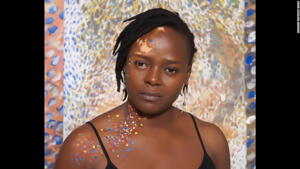 Corne's work will be on display at the Vienna Art Fair this fall. Pictured, Ogo Maduewesi.