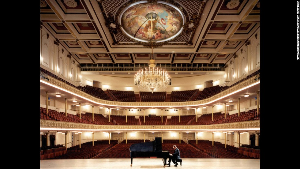 Cincinnati, Ohio's Music Hall is designated as a Historic Landmark and has played a significant role in the city's culture.  Built in 1878,  Springer Auditorium is one of the many facets of the hall that has been subject to extensive deterioration.