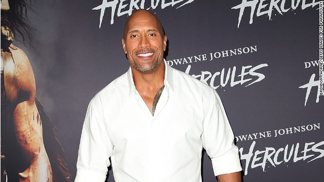 "Dwayne Johnson arrives at the screening of ""Hercules"" in June 2014 in Sydney, Australia."