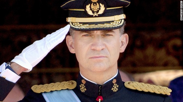Challenges await Spain's new king