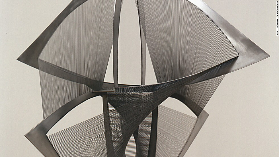 "<em>""Torsion, Variation"" (1974, 1975) by Russian artist Naum Gabo</em><br /><br />Organizers pride themselves on being on the pulse of the latest trends in the art world, and are keen to include new, experimental works: ""It's clear that digital art is becoming more and more interesting in time. We will find a way to integrate it in the fair, and showcase the work of these artists who are digital natives,"" says Spiegler. The work shown here is by Russian artist <a href=""http://www.naum-gabo.com/"" target=""_blank"">Naum Gab</a>o, a pioneer of constructive sculpture."